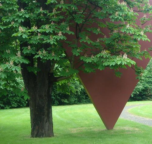 Kastanie mit Dreieck