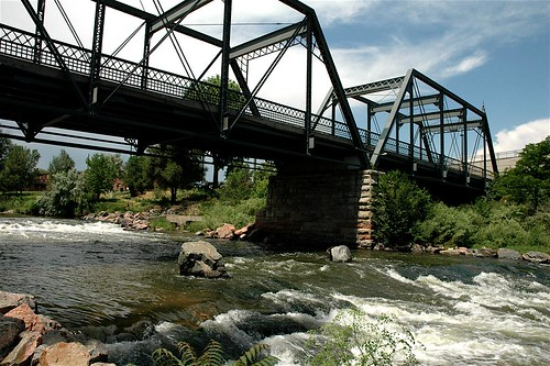 Historic, Nineteenth Street Bridge, Denver, Colorado | by Thad Roan - Bridgepix