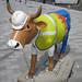 No 46 Moo-rrison Cowstruction at Edinburgh Cow Parade 2006
