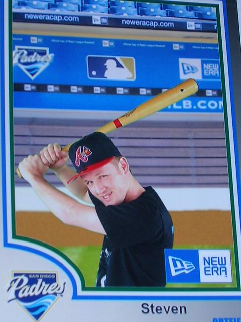 Mr B Star Baseball Card Taken At Spring Training In Az