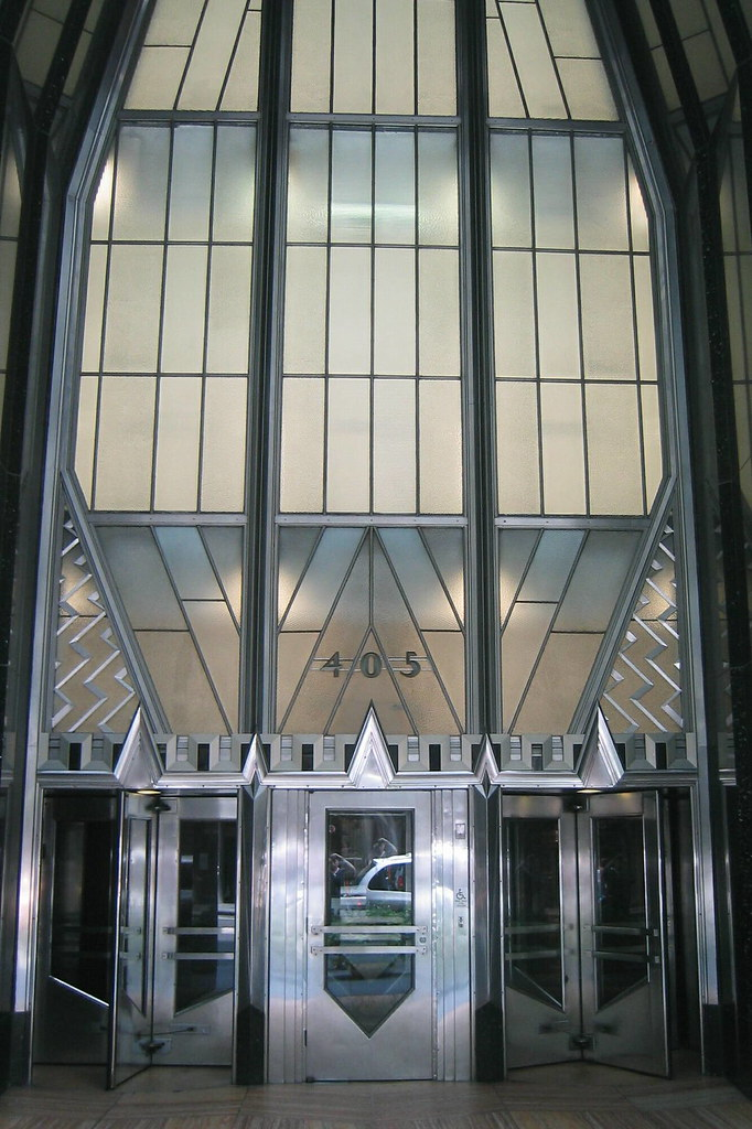 Nyc Chrysler Building Entrance The Chrysler Building