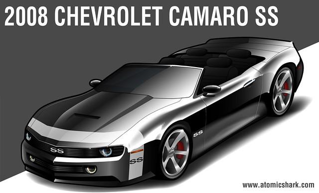 2008 Chevy Camaro SS rendering | Chevrolet Camaro concept ...