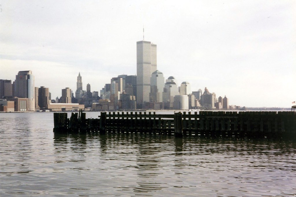 World Trade Center View From Hoboken The World Trade