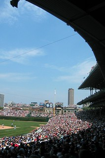Chicago: Wrigley Field - Granstand | by wallyg