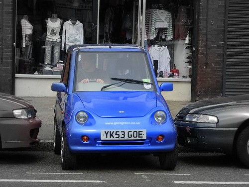 G Wiz Electric Car As Not Driven By David Cameron Flickr