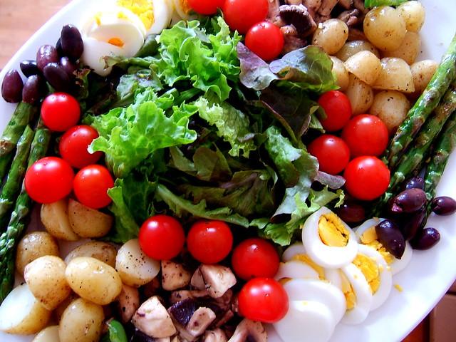 Salad composée