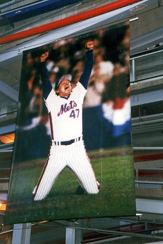 Queens - Flushing: Shea Stadium - Jesse Orosco 1986 Banner | by wallyg