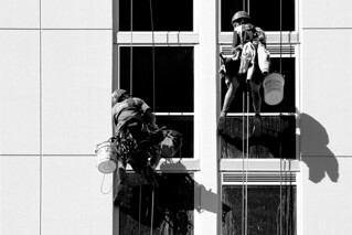 cleaning windows | by monkeyc.net