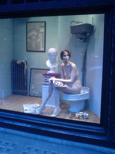Mannequin on a Toilet | by bixentro
