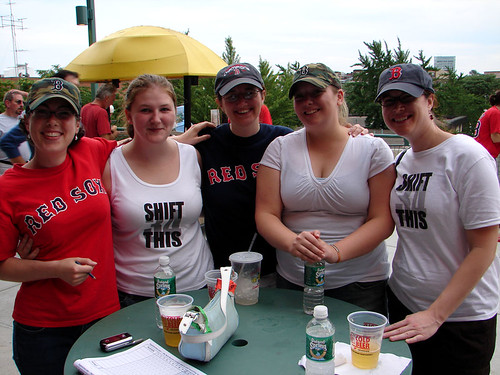 lady sox bloggers invade Fenway | by Boston Wolverine