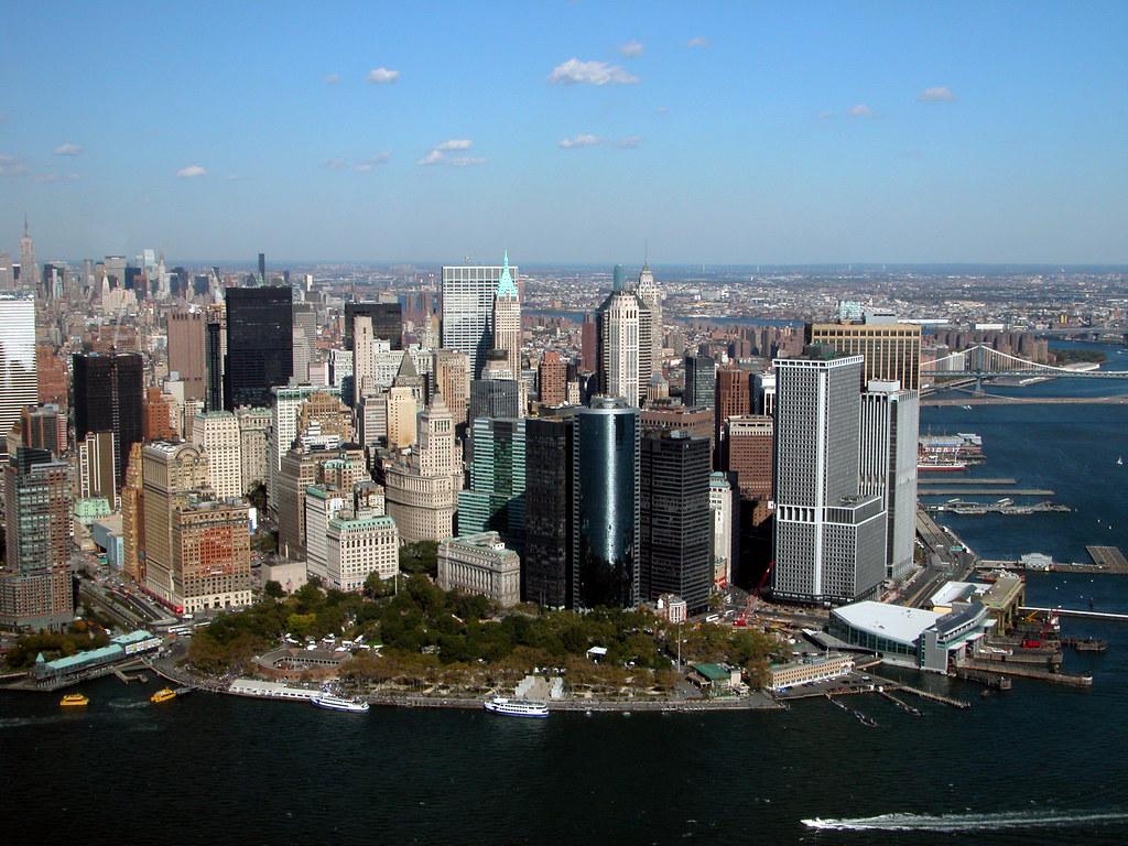 Birds Eye View, Battery Park NYC