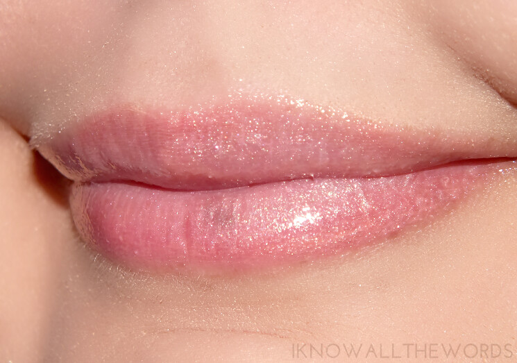A little bit Lippy with Arbonne Glossed Over Lip Gloss Linden