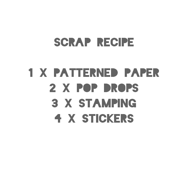 Scrap Recipe Challenge June 1st