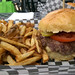 Hole-E Burger Bar - the burger and fries