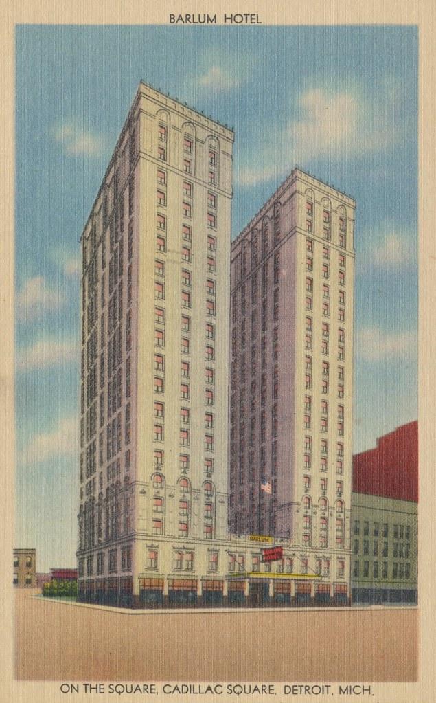 Barlum Hotel - Detroit, Michigan