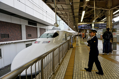 Sleek Bullet Train