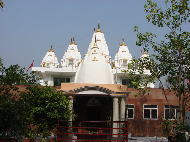 A full front outside view of main temple