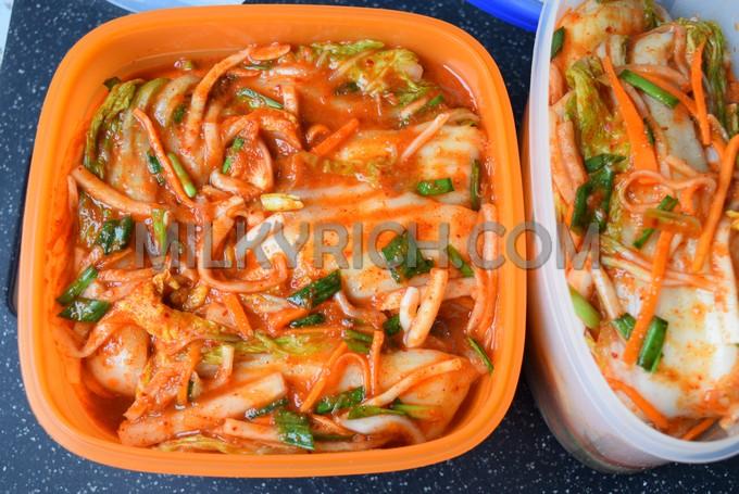 9 - Kimchi cải thảo