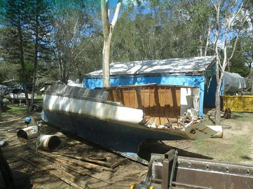 boat demolition Brisbane bayside