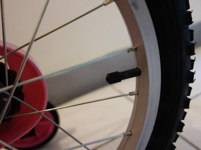 打氣胎@Adagio 16吋卡布奇諾打氣胎童車附置物籃-粉色(BEYJ179P)