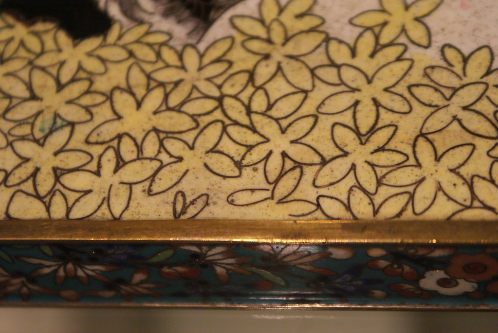 Autre motif végétal avec ces pétales de fleurs.