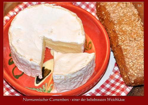 Französischer Käse ... Käseverkostung ... Käse aus der Normandie ... Neuchâtel, Camembert und Livarot ... Fotos: Brigitte Stolle, Mannheim 2016