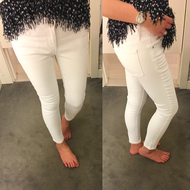 Ann Taylor Modern Skinny Ankle Jeans, size 25/0P