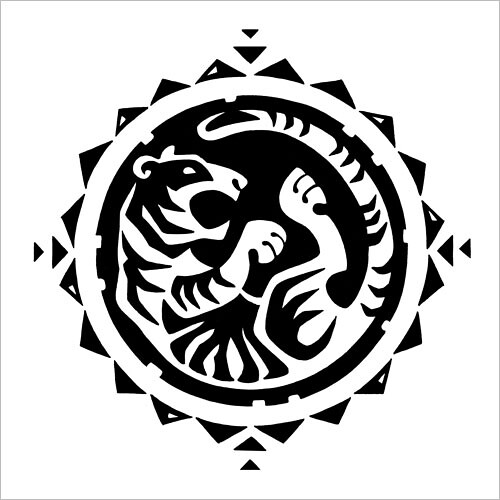 Chinese Zodiac: Tiger / Китайский зодиак: тигр