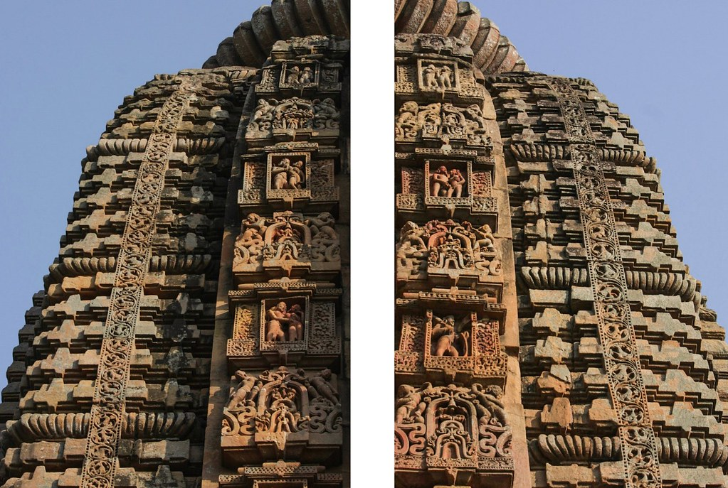 Temples design with flanks