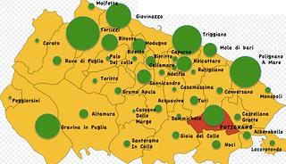 La mappa del voto per Lacarra
