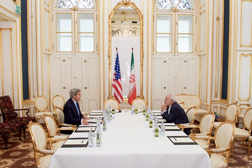 Secretary Kerry Meets One-on-One With Iranian Foreign Minister Zarif Amid Nuclear Negotiations in Austria | by U.S. Department of State