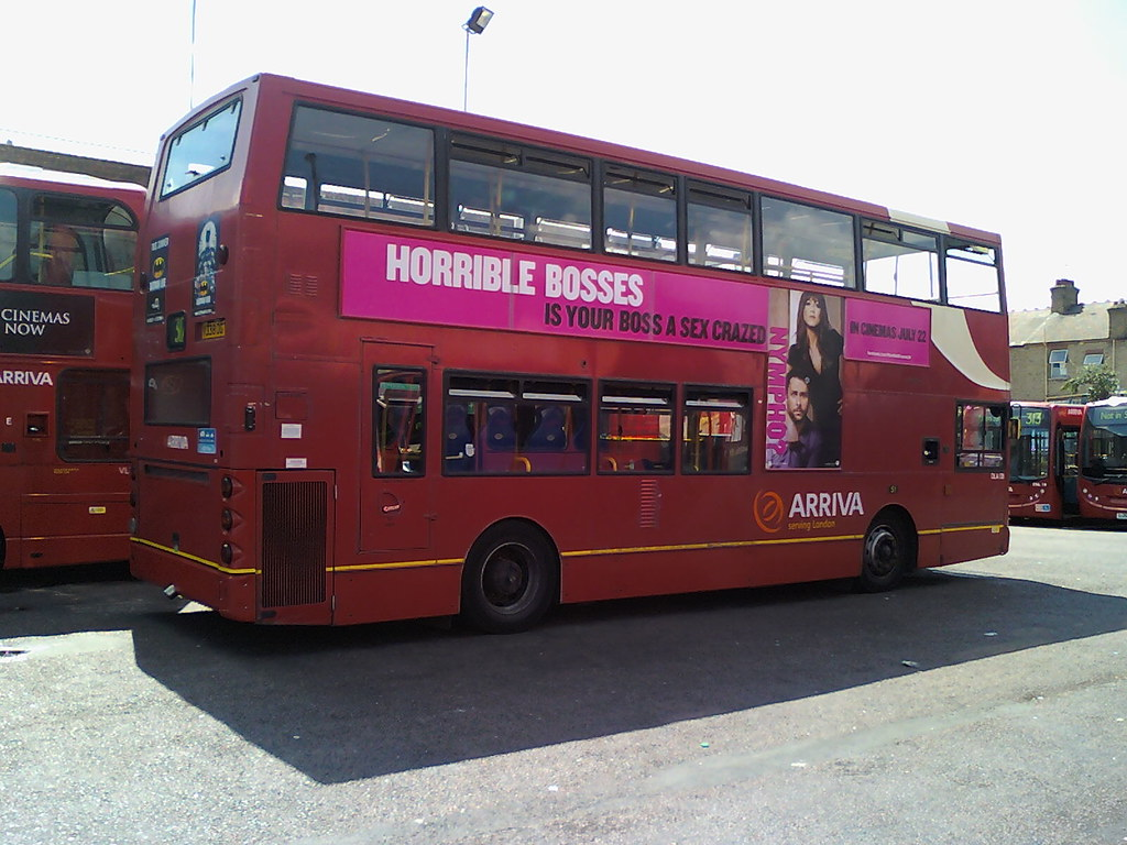 "arriva tfl route 317 - dla138 - "" horrible bosses "" 