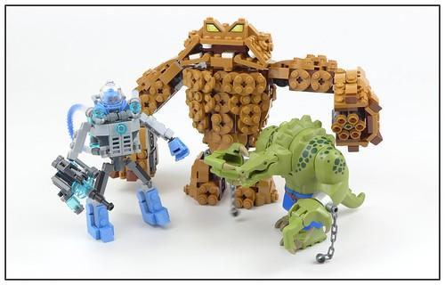 The LEGO Batman Movie Friends Killer Croc Mr Freeze Clayface