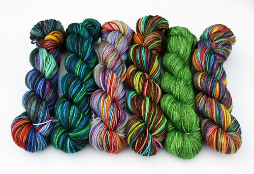 MarigoldJen Hand Dyed Yarns 2