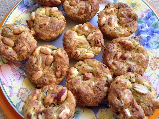 Muffins olives feta
