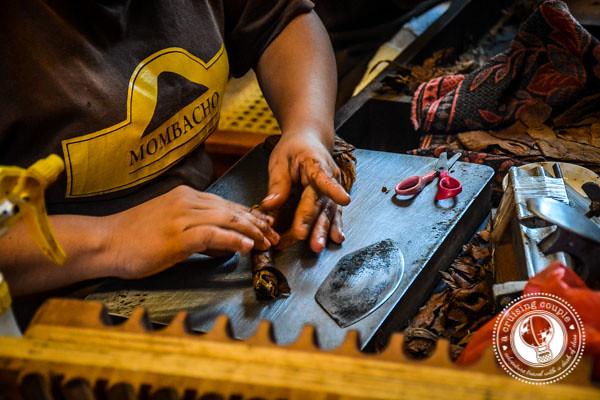 Rolling Cigars in Granada Nicaragua