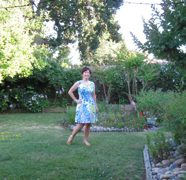 Vintage dress on me2