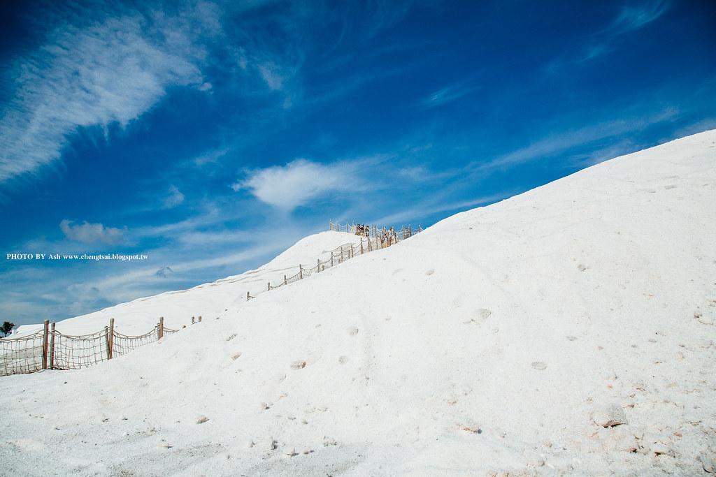 雪的國度 - 七股鹽山