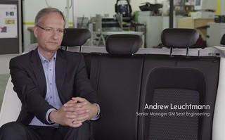 Für die Opel-Sitze verantwortlich: Andrew Leuchtmann