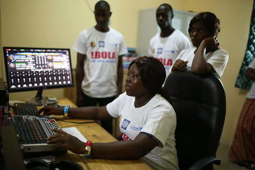 Employees at Radio Rural Community de Forecariah | by World Bank Photo Collection