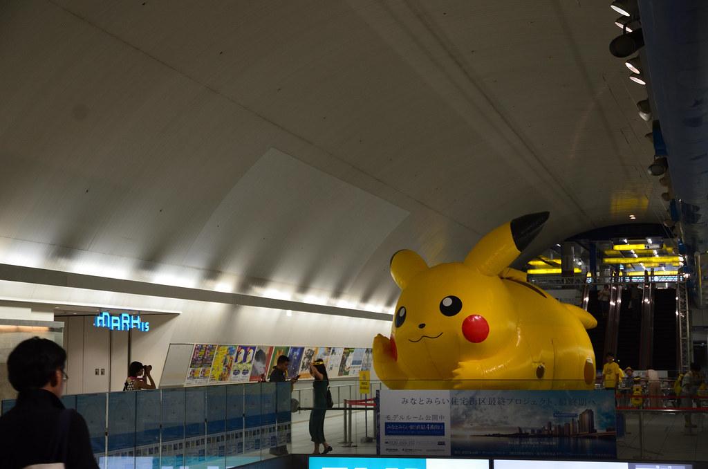 2016-08-07 16-14-53Big Pikachu in Minato-mirai Station