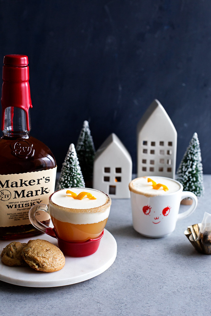 Spiced Cider Hot Toddy
