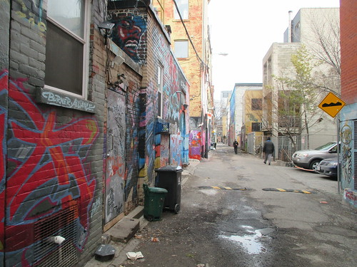 Graffiti Alley, Toronto (2)