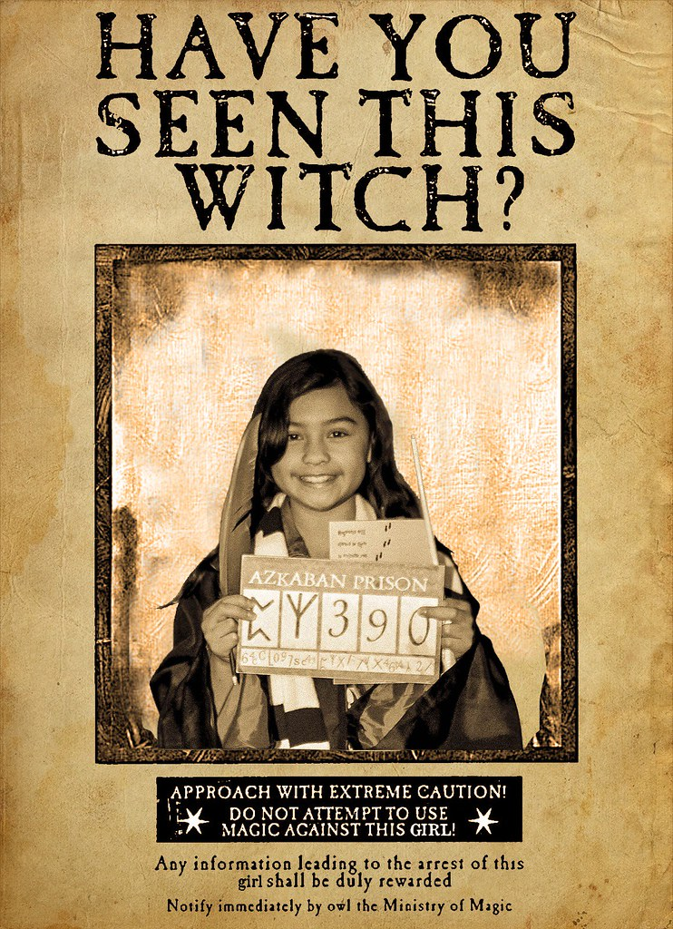 harry potter wanted poster