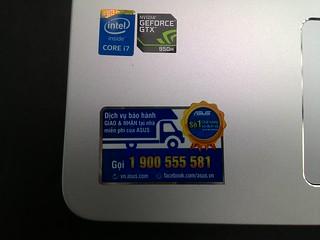 [Khui hộp] Asus K501L - Laptop tầm trung thiết kế đẹp cấu hình cao - 77136
