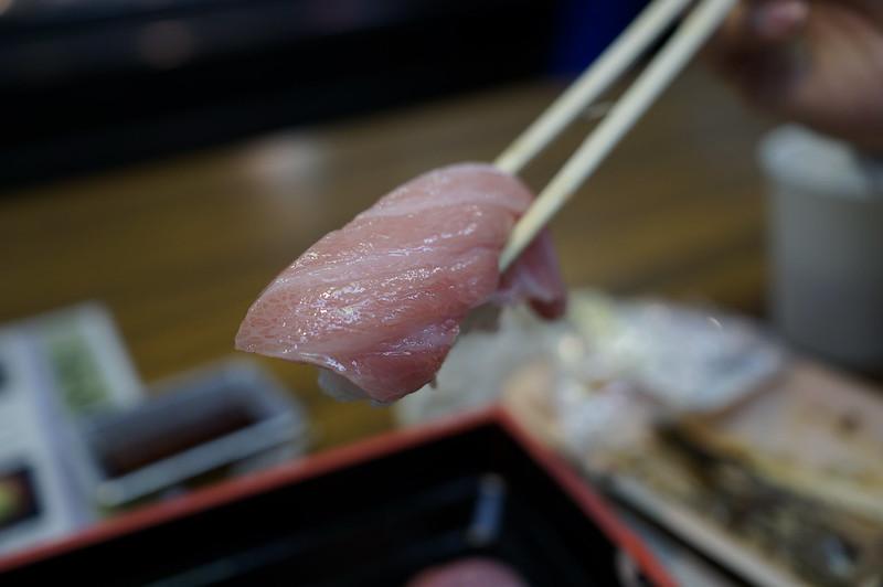 大阪黑門市場之生魚片