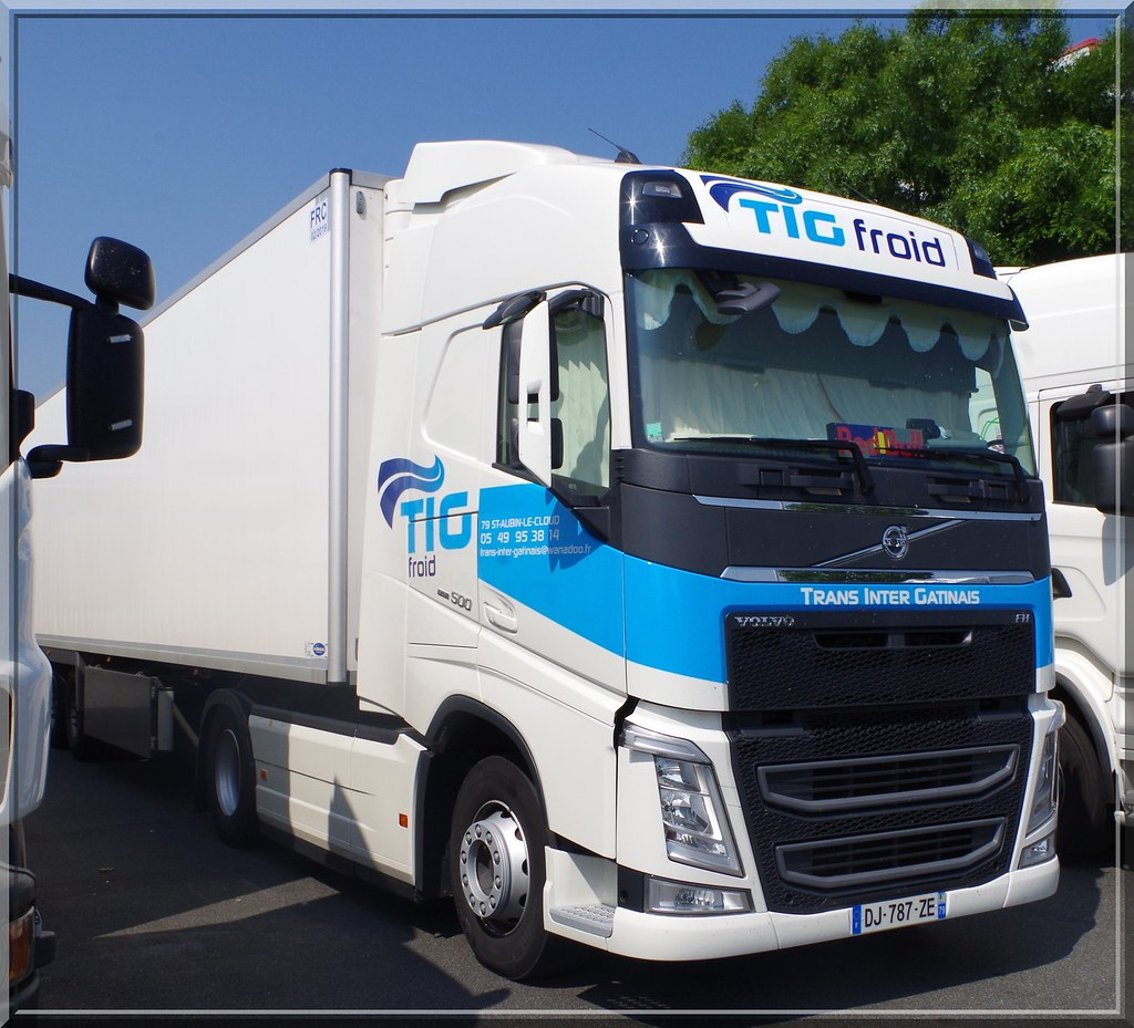 Volvo New Fh500 Globetrotter Tig Froid Trans Inter Gatin