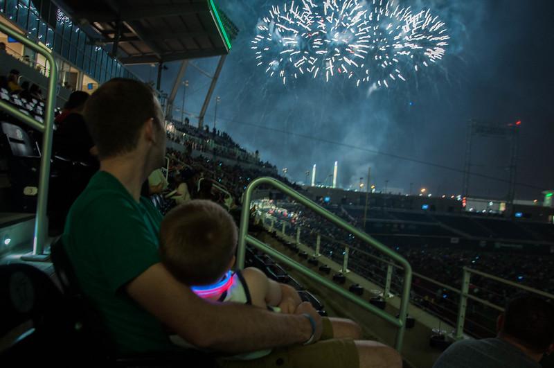 College Homerun Derby and Fireworks