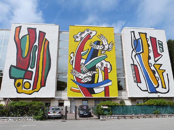 trois fresques
