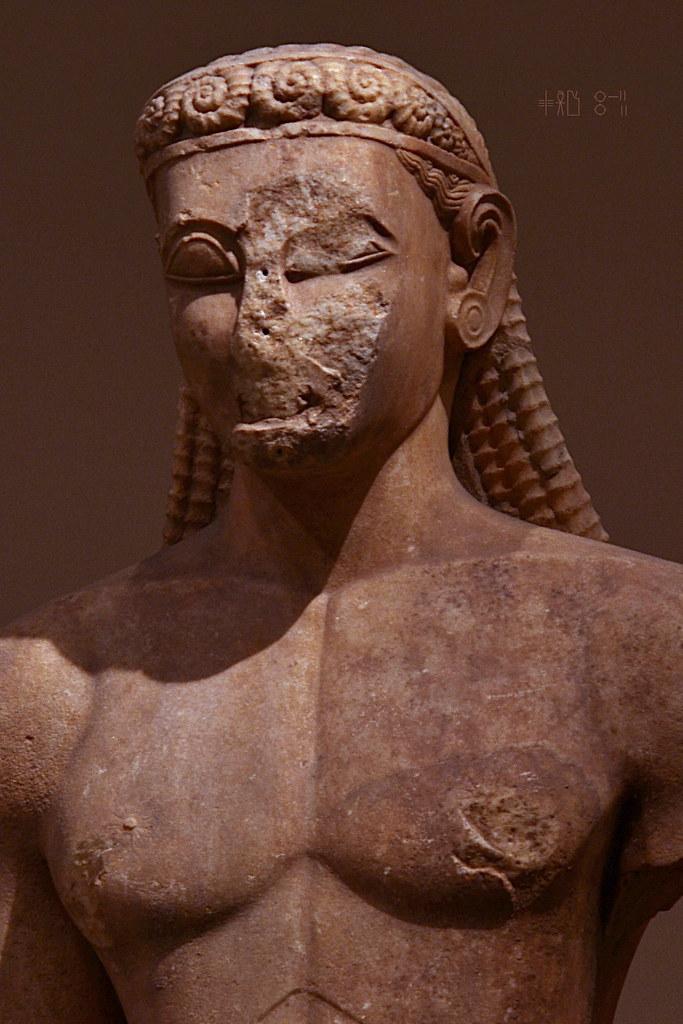 Sounion Kouros No 2720 At The National Archaeological Mu